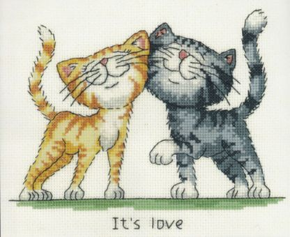 Heritage Stitchcraft - It's Love