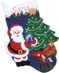 Design Works - Santa's Gifts Stocking