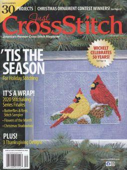 Just Cross Stitch - Ausgabe Dezember 2020