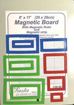 Metallplatte plus 10 Magnetische Fenster