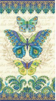 Dimensions - Trio of Peacock Butterflies