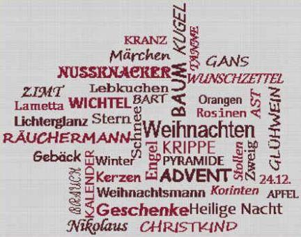 Kreuzstich-Insider - Weihnachtsbegriffe