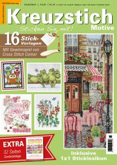 German Magazine Kreuzstich Motive 23 Spring and Summer 2021