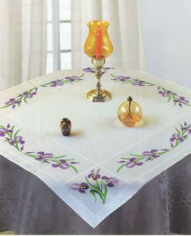 Luc Créations - Tischdecke Lilien