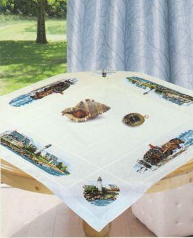 Luc Créations - Table cloth lighthouse
