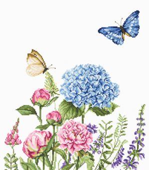 Luca-S - SUMMER FLOWERS AND BUTTERFLIES