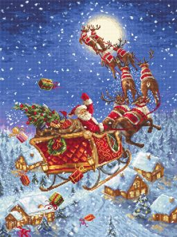 Letistitch by Luca-S - THE REINDEERS ON ITS WAY!