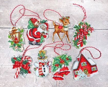 Letistitch by Luca-S - CHRISTMAS TOYS KIT NR.1