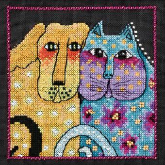 Mill Hill - Laurel Burch Dogs! Fur-Ever Friends