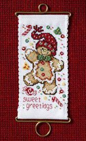 Mill Hill - Sweet Greetings Gingerbread