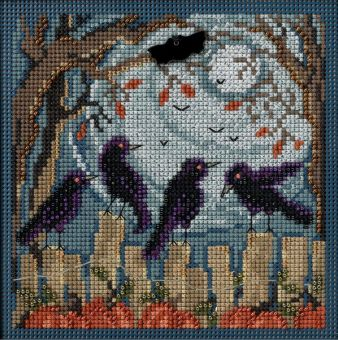 Mill Hill - Ravens Buttons & Beads