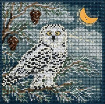 Mill Hill - Snowy Owl Buttons & Beads