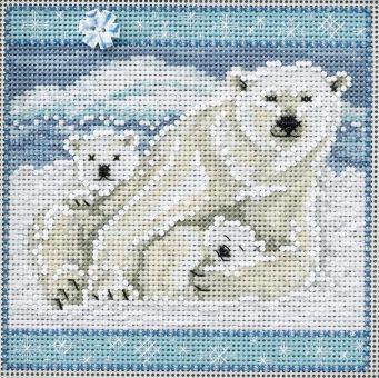 Mill Hill - Polar Bears Buttons & Beads