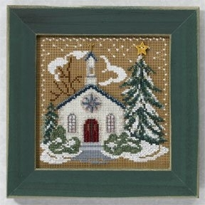 Mill Hill - Christmas Village - Country Church