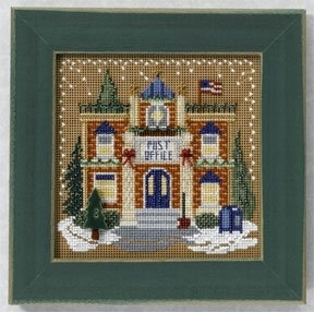 Mill Hill - Christmas Village - Post Office