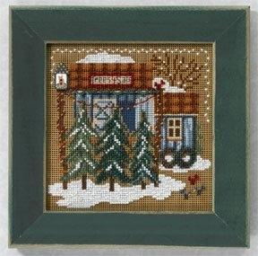 Mill Hill - Button Beads Christmas Village - Tree Farm