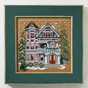 Mill Hill - Christmas Village - Queen Anne House