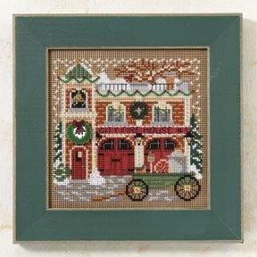Mill Hill - Christmas Village - Firehouse