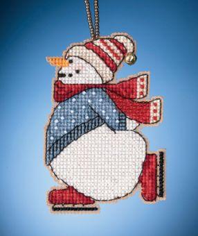 Mill Hill - Skating Snowman (2021)