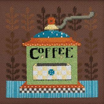 Mill Hill - Debbie Mumm Coffee Grinder