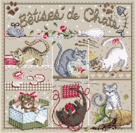 Madame La Fée - Bêtises de Chats
