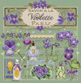 Madame La Fee - Savon à la Violette