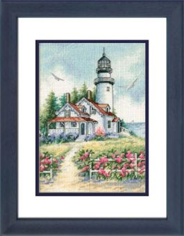 Dimensions Gold Petites - Scenic Lighthouse
