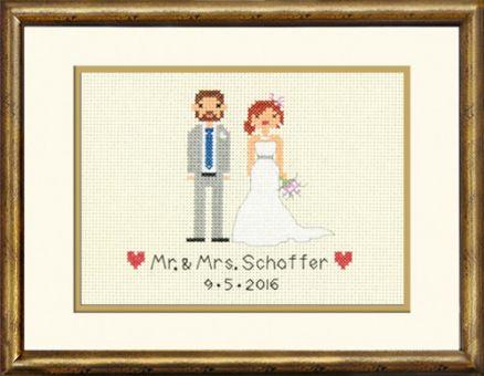 Super SALE Dimensions Crafts - Bride & Groom Wedding Record