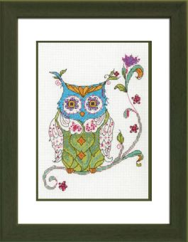 Dimensions Crafts - Blooming Owl