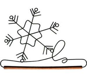 Beschlag - Schneeflocke