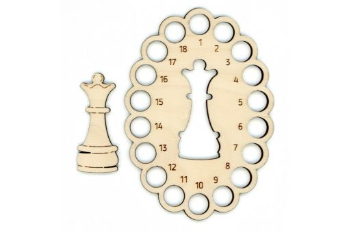 MP Studia - MOULINE ORGANISER CHESS QUEEN + 1 SPOOL OR-058