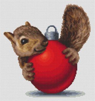 Orcraphics Cross Stitch - Decoration Squirrel