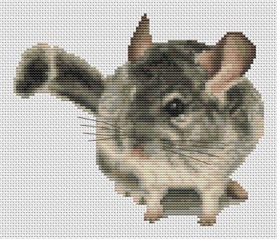 Orcraphics Cross Stitch - Velvet Fur Ball