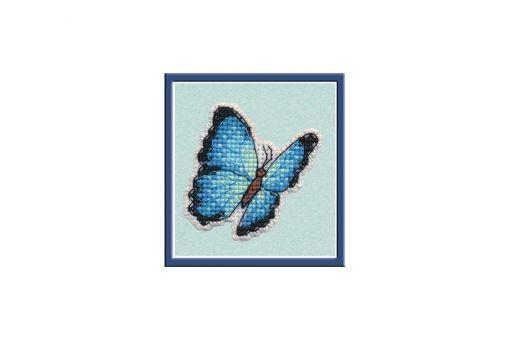 Oven - BADGE-BLUE MORPHO