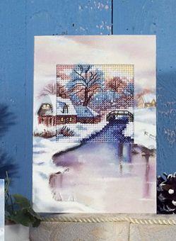 Orchidea - Weihnachtskarte Winter III