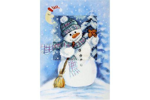 Orchidea - Greeting card Snowman