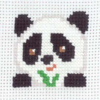 Permin Of Copenhagen - Anfängerpackung - Kinderpackung Panda