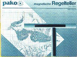 Reihenzähler - Pako (mit Metallplatte)