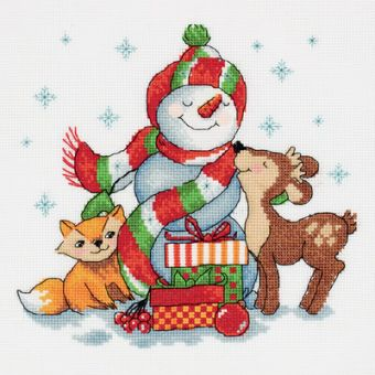 PANNA - SNOWMAN WITH GIFTS