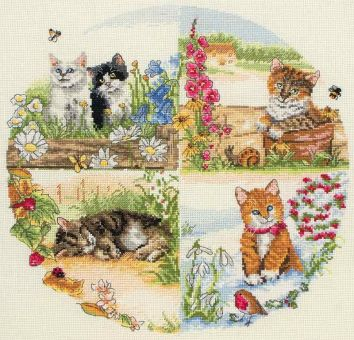 Anchor Cross Stitch - Cats and Seasons