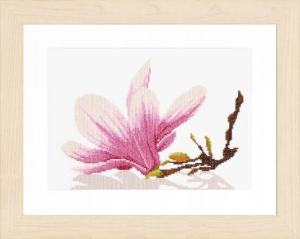 Lanarte - COUNTED CROSS STITCH KIT MAGNOLIA TWIG