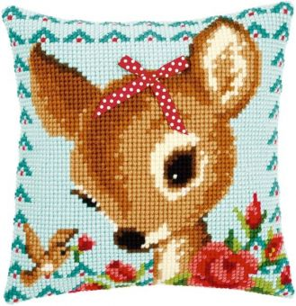 Vervaco Cross Stitch Cushion Kit - PN-0149899