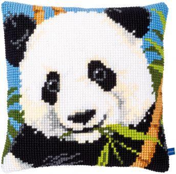Vervaco Kreuzstichkissen - Panda