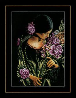 Lanarte - WOMAN & FLOWERS