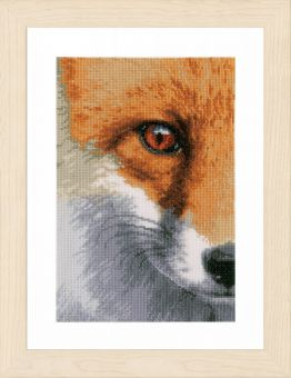 Lanarte - COUNTED CROSS STITCH KIT FOX