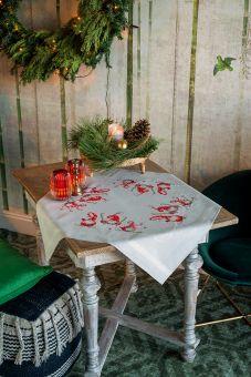 Vervaco - Tischdecke Weihnachtsgnom