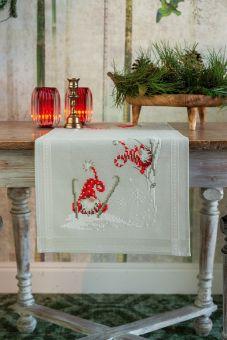 Vervaco - Tischdläufer Weihnachtsgnom