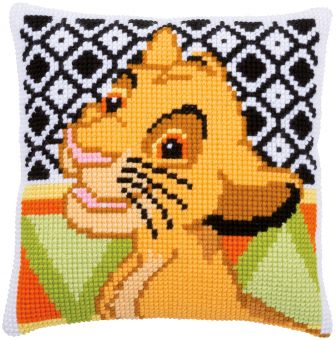 Vervaco Disney Kreuzstichkissen - Simba