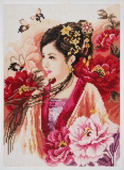Super SALE Diamond Painting by Lanarte - Asiatische Frau
