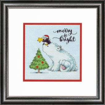 Dimensions Crafts - MERRY & BRIGHT BEAR